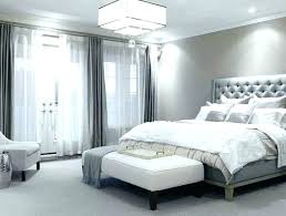 White Master Bedroom Contemporary Bedroom In Luxury White Home White ...