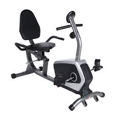 Sunny Health Fitness Easy Adjustable Seat Recumbent Bike Sunny