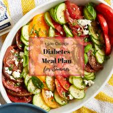 Meal Planning For Diabetes 5 Day Diabetes Meal Plan For Summer Eatingwell