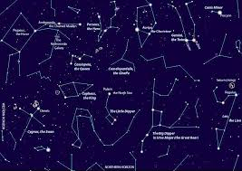 Night Sky Chart Night Sky Chart By Thespacewriter Click On The Image To