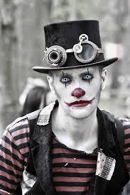 steunk clown man like the colors