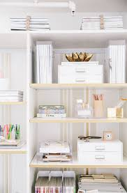 trendy office supplies. Shelf-styling-apartment-34-office Trendy Office Supplies