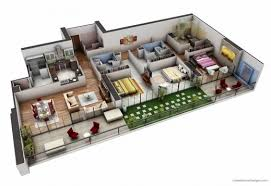 stylish 3d house plan indian style best n home design plans indian