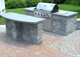 built in grill ideas outdoor grill island ideas best on inside how to build a built