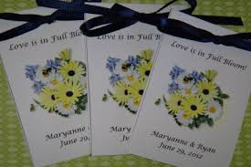 flower seeds as wedding favors. daisy duo seed packets flower seeds as wedding favors