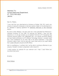 Awesome Collection Of How To Write Cover Letter For Fresh Graduate