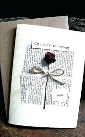 1st anniversary gifts gift paper ideas one for him couples dating c boyfriend year
