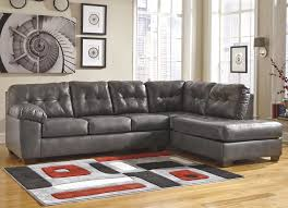 Ashley Signature Design Alliston DuraBlend Gray Sectional w