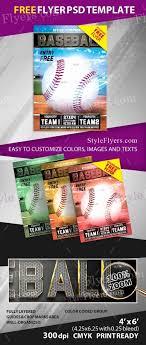 Free Baseball Flyer Template Free Flyer Template Downloads Lovely Baseball Free Psd Flyer