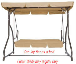 patio swing converts outdoor porch with canopy steel that lays flat seater hammock function for garden chair egg shaped replacement cushions web hampton bay