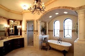 Venetian Style Waterfront Palazzo mediterranean-bathroom
