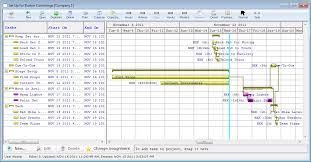 Gantt Charts Graphically Display Gantt Chart And Treelist Project Viewing
