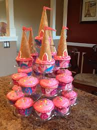 Princess Birthday Cupcake Tower It Never Occurred To Me To Make A