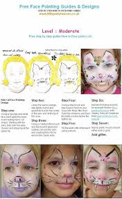how to face paint a cat