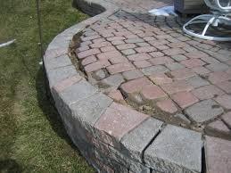 raised brick patio how to build a raised patio with retaining wall blocks rais on the