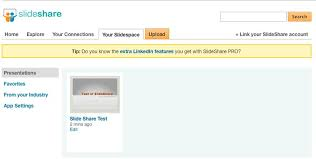 Slede Share What Is Linkedin Slideshare Business Insider