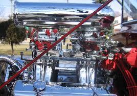 Chevy 355 with Chromed Edelbrock Tunnel Ram, Endura Shine ...