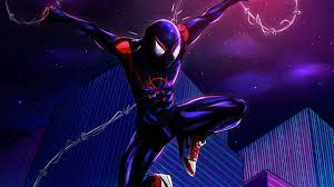 Miles Morales Spiderman Wallpaper Hd