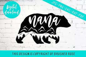 From wikipedia, the free encyclopedia. Nana Bear Svg Mountain Bear Svg Svg Files Sayings Cricut 887998 Cut Files Design Bundles