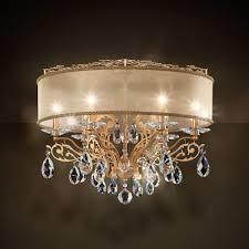 schonbek filigrae flush chandelier fe7266