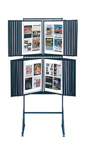 Display Stands For Art Double Decker Photo Display 100 Tier Stand 100 Swing Panels Ships 11