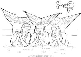 Small Picture h2o just add water coloring pages coloring pages of mermaids from