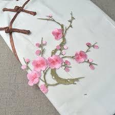 blossom applique cherry blossom decor flower patch floral applique