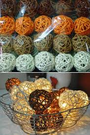 fall office decorations. fall home decor light up basket or vase filler storm autumn browns rattan cane battery office decorations