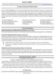 Professional Engineer Resume Samples Sample Resume For Electrical Engineer 2 Handplane Goodness