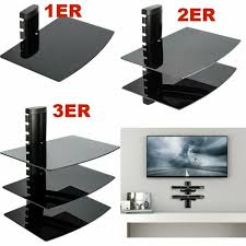 floating shelves x3 holes for cable