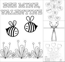 Small Picture Valentines Day Coloring Pages Make and Takes