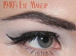 images of 1940 s fashion 1940 s fashion achieve the 1940 s eye make up look