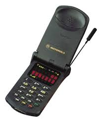first motorola phone. 1996: motorola startac. the first clamshell cellular phone. also one of phone a