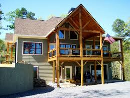small lake house plans with walkout basement best of rustic lake house plans plan nd creekside