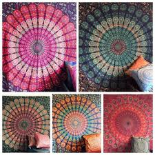 25 pcs whole lot indian mandala tapestry wall hanging deco twin bedspread uk