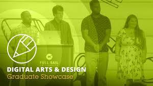 Full Sail University Art And Design July 2019 Digital Arts Design Graduate Showcase Full Sail University