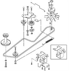drive belt diagram for john deere l120 fixya hope this is helpful