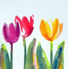 easy painted flowers watercolor tutorials art easy flowers paint in 15 minutes home meaning of flowers