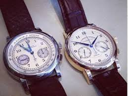 guide to starting a watch collection business insider a langue and sohne chronograph men s watches