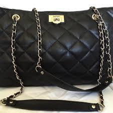 DKNY Gansevoort Quilted Black Leather Shoulder Bag - Tradesy &  Adamdwight.com