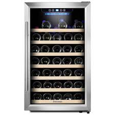 Stand Up Display Fridge Delectable Kalamera 32 Bottle Single Zone Freestanding Wine Cooler Reviews