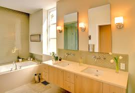 delicate modern bathroom sconces making luminous and soothing atmosphere bathroom lighting ideas square wall mounted