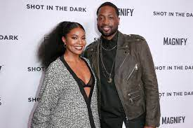 Gabrielle Union and Dwyane Wade Show Off Their at-Home NBA Skills