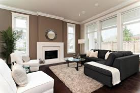 House, Good Accent Wall Colors For Small Living Room With Fireplace And L  Shaped Sectional