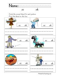 Blends Worksheets | Have Fun Teaching