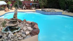 newly resurfaced advancedglass fiberglass finish pool resurfacing g74