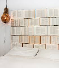 recycle furniture ideas. 1 book headboard u2013 this first design is one i really love it so simple to make also all you need some plywood nails and of course hard recycle furniture ideas