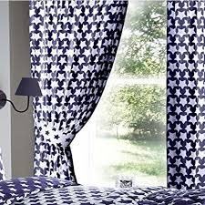 etoile blue star curtains 72s