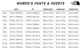 North Face Size Chart The North Face Womens Aphrodite 2 0 Capri
