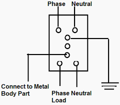 working principle of earth leakage circuit breaker (elcb) and Schneider Relay Wiring Diagram voltage base elcb schneider relay wiring diagram